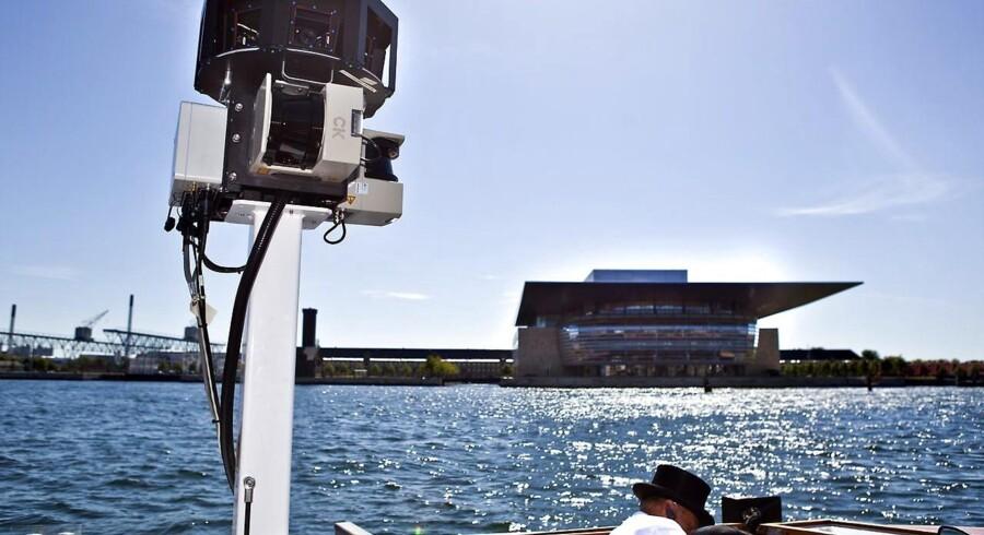 Googles Streetview-fotografer har også været på kanalrundfart i København.