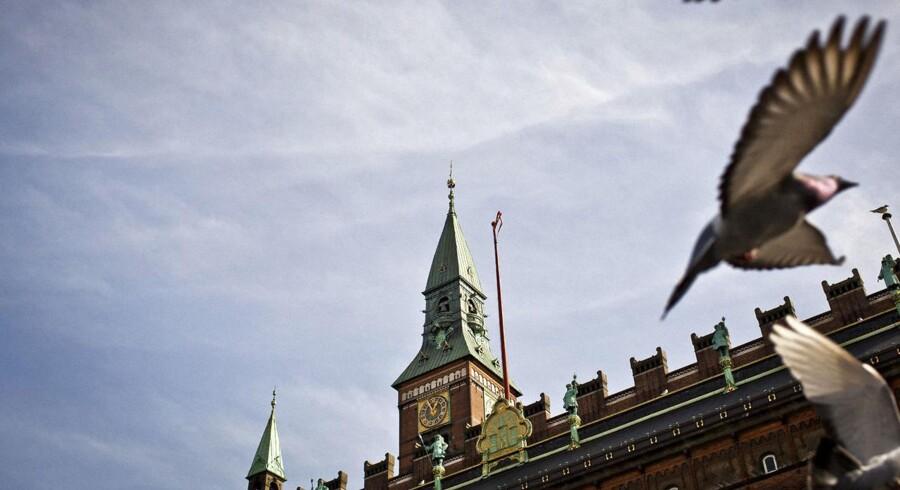 Hovedstaden er en økonomisk vækstmotor. Her ses Københavns rådhus.