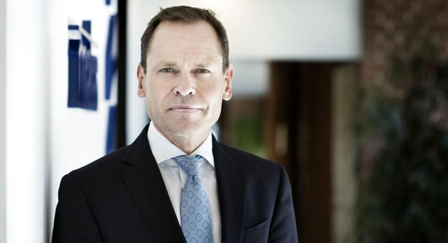 Matas' topchef, Terje List, er forsigtigt optimistisk oven på et år, hvor salget har været uændret, selv om Danmark er i bedring. Arkivfoto: Liselotte Sabroe, Scanpix