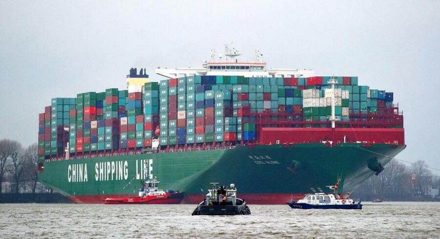 De to rederier at kombinere deres containerfragt-forretninger og dermed skabe verdens fjerdestørste containerrederi.