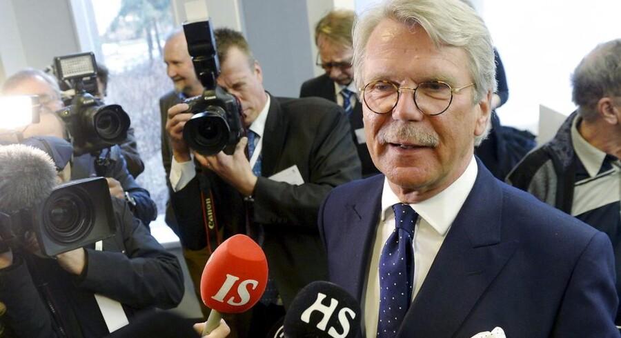 Nordeas bestyrelsesformand Björn Wahlroos