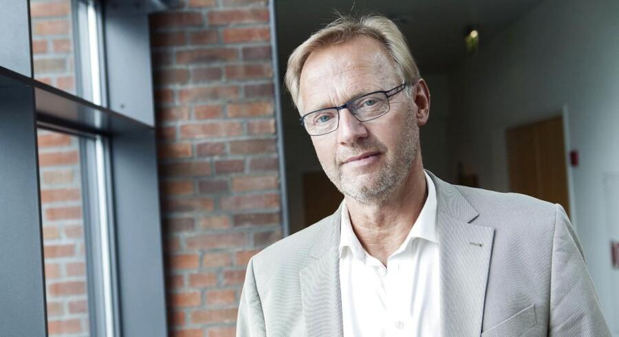 Anders Dam, ordførende direktør i Jyske Bank, håber på, at politikerne vil hjælpe det kriseramte landbrug.