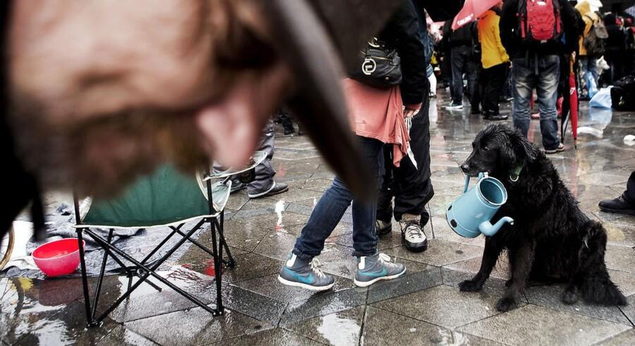 Antallet af hjemløse stiger. Derfor vil Socialdemokraterne og DF sætte flere penge af til indsatsen mod hjemløshed.