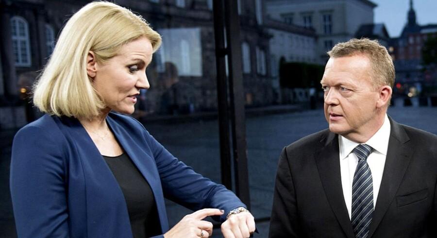 Kapløbet om statsministerposten ligger så tæt, at meningsmålingerne ikke er bedre til at afgøre valgets vinder end et spil plat eller krone ville kunne gøre. Det siger Asger H. Nielsen, der er administrerende direktør for Megafon.