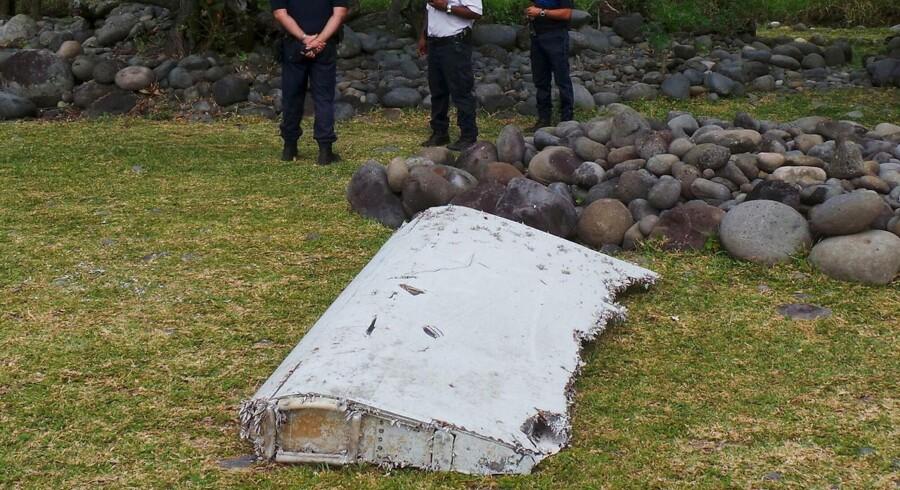 Kuffrerten er fundet på nøjagtig den samme strand på øen la Réunion, hvor man døgnet før fandt den to meter lange flyvinge-vragdel, en såkaldt flaperon.