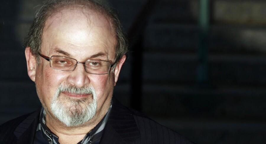 Forfatteren Salman Rushdie.