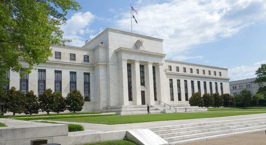 Den amerikanske centralbank, Federal Reserve, August 1, 2015 in Washington, DC.