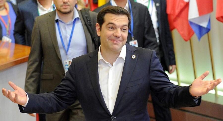 Den græske premierminister Alexis Tsipras har opkaldt sin ene søn efter en revolutionær venstrefløjsfigur. Gæt på hvem i Berlingske Business' Grækenland-quiz.