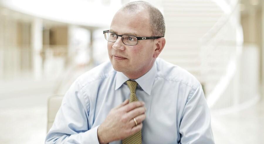Henrik Andersen har været direktør i Hempel i 13 måneder og er nu begyndt at kigge på opkøb til malingproducenten.