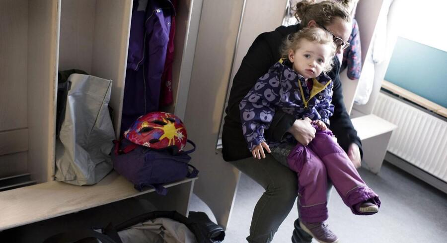 Liv Jepsen og datteren Emilie på næsten to år.