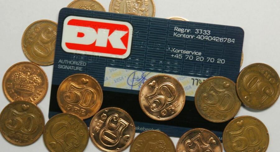 Danske Bank og Nordea er uenige om dankorttallene, når det kommer til danskernes privatforbrug.