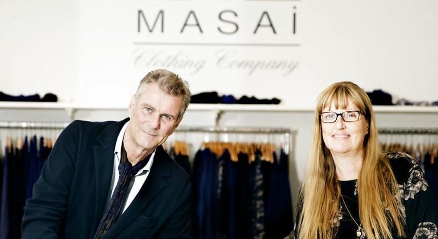 Hans og Nina Rye, der har skabt tøjmærket Masai.