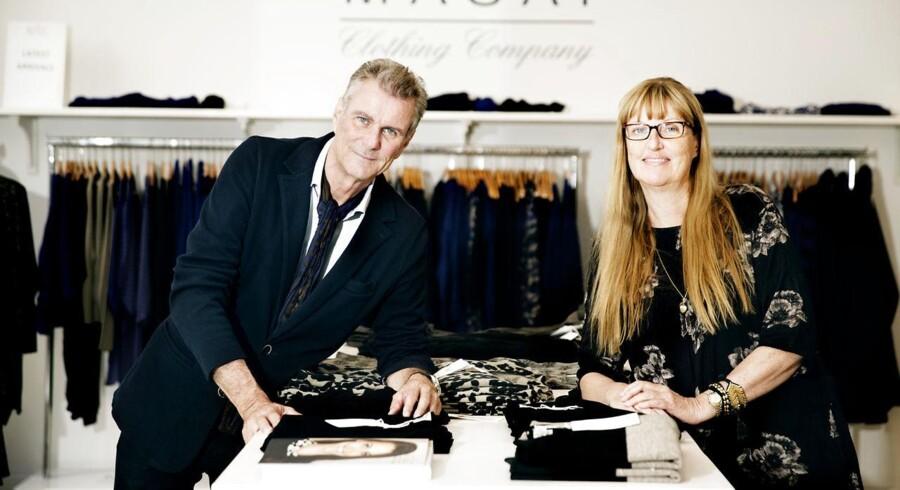 Søskendeparratet Nina og Hans Rye, der har skabt tøjmærket Masai og nu solgt det. Søskendeparret befinder sig også på listen over Danmarks 100 rigeste.