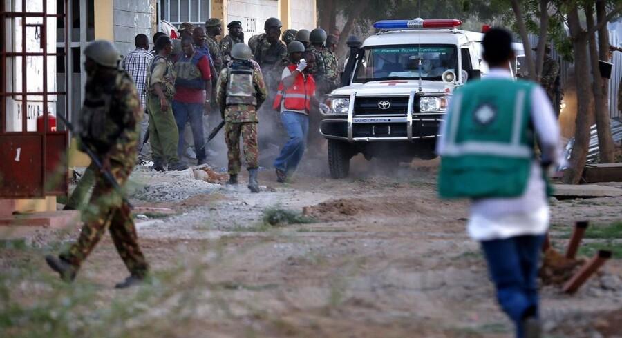 Mindst 147 personer har mistet livet ved torsdagens angreb på et kenyansk universitet, som al-Shabaab har taget ansvaret for.