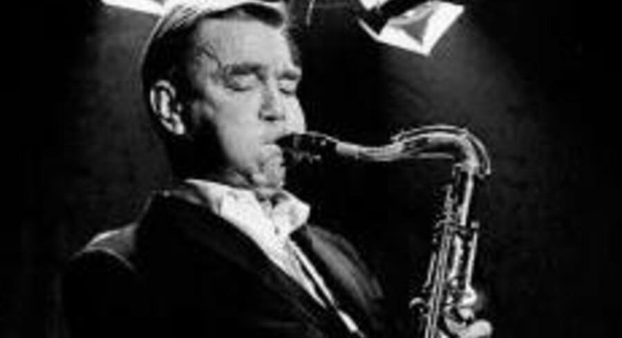 Den amerikanske tenorsaxofonist Brew Moore. Foto: PR