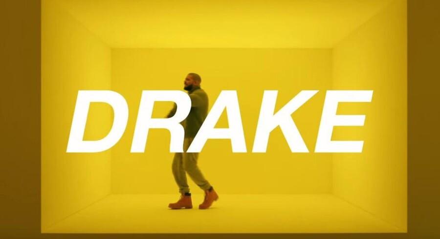 Den kendte musiker og rapper Drake er i år med i en reklame fra teleselskabet T-Mobile.