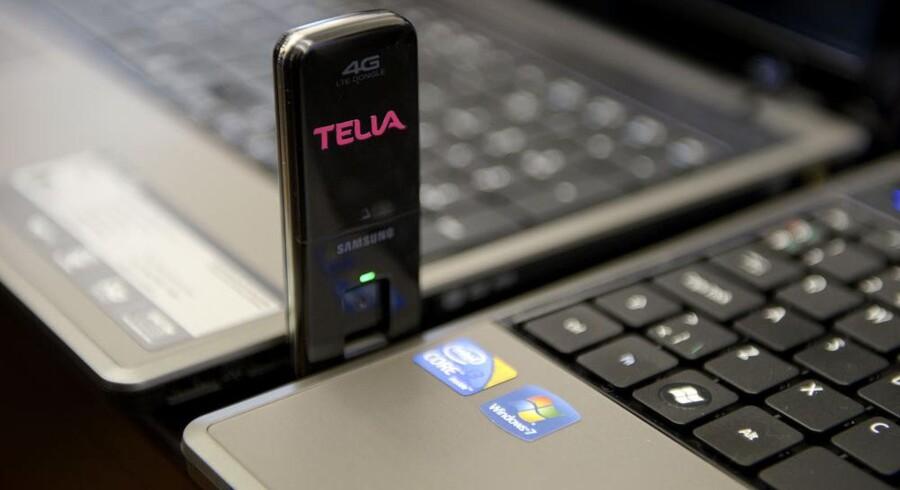 De nye supermobilnet, kaldet 4G, skulle have været anledningen til at få datapriserne sat lidt op, men Telia sælger nu abonnementer til halv pris af, hvad TDC tager. Arkivfoto: Liselotte Sabroe