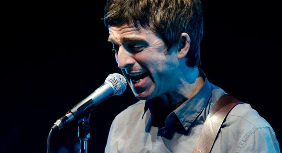 Noel Gallagher fra det hedengangne Oasis optrådte med sit solo-projekt i Koncerthuset lørdag. - Arkivfoto.