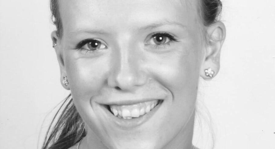 Carina Melchior fra DR Dokumentaren »Pigen, der ikke ville dø« inden den alvorlige bilulykke.