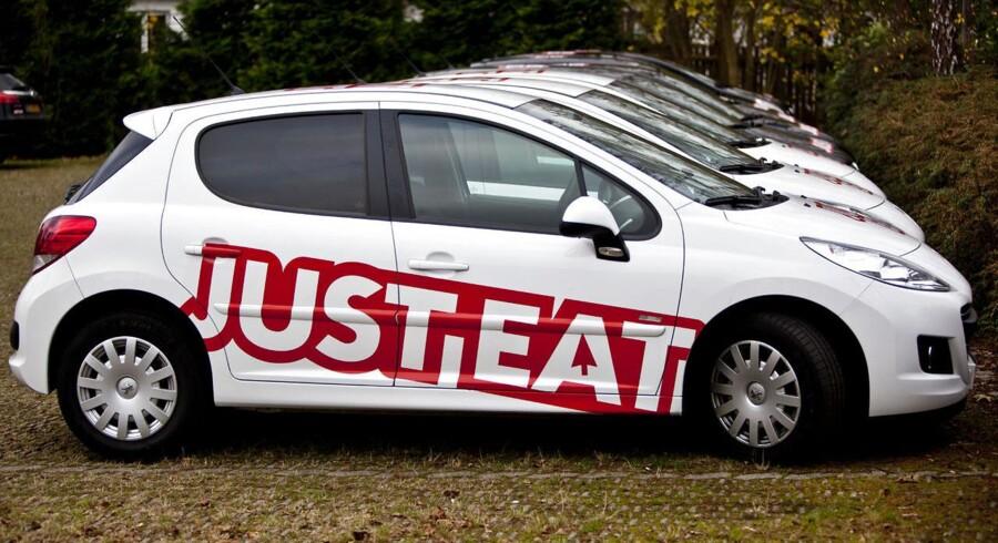 Just-Eat bil.