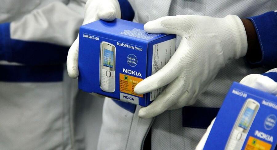 Nokias fabrik i Sriperumbudur, 80 km sydvest for Chennai i Indien, hører til blandt de største. Nu kan den indgå i handelen med Microsoft. Arkivfoto: AFP/Scanpix