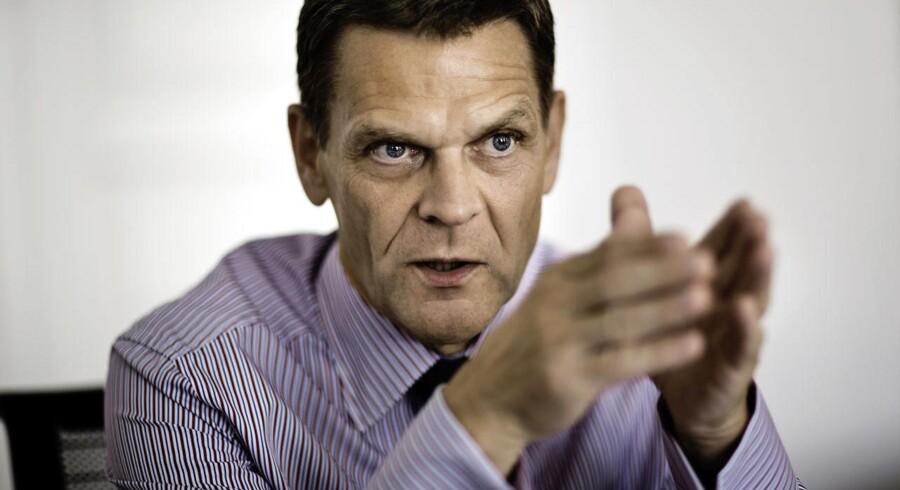 Ole Andersen - bestyrelsesformand for Danske Bank - fortryder hverken ansættelsen eller fyringen af Eivind Kolding.