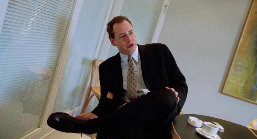 Bret Easton Ellis på besøg i København i 1999. Foto: Sofie Hansen