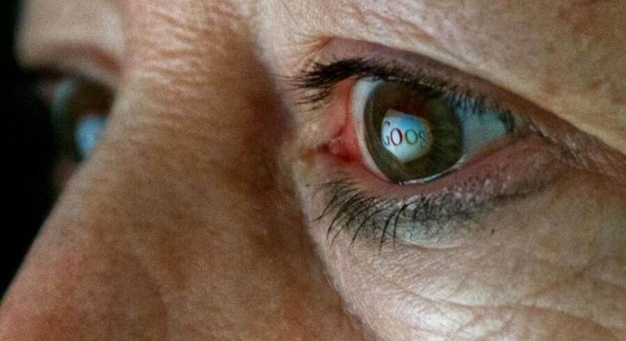 Google er i søgelyset hos EU for flere krænkelser af privatlivets fred og konkurrenceforvridning, men søgegiganten ser ud til at klare frisag om ansvaret for, at private oplysninger dukker op i søgeresultaterne. Arkivfoto: Karen Bleier, AFP/Scanpix