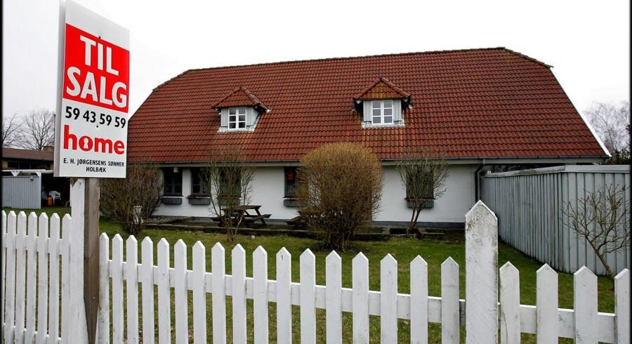 Lave renter har fået danskerne til at afdrage rekordbeløb, men cheføkonom opfordrer flere til at droppe afdragsfriheden, når det er så billigt at afdrage. FOTO: Bax Lindhardt/Scanpix