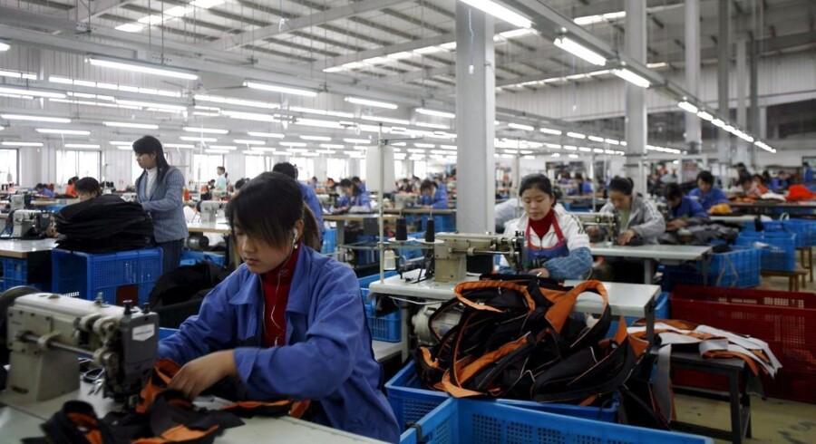 Den kinesiske industriproduktion udviklede sig ikke helt så godt som ventet i august, og investeringsniveauet efterlod meget tilbage at ønske i august.