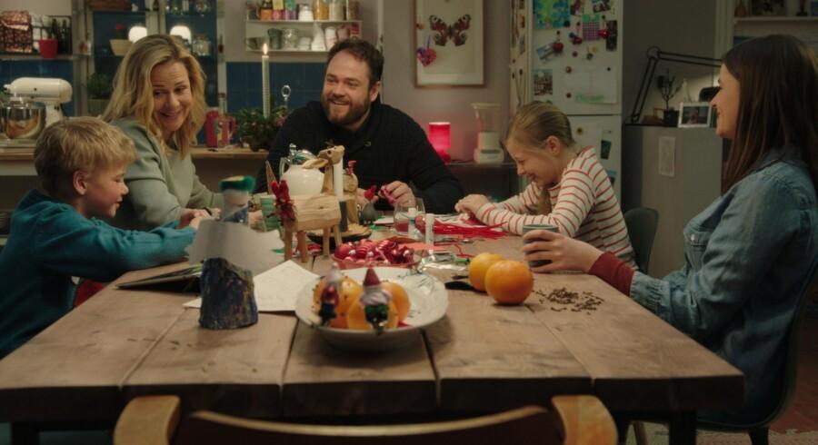 TV 2s nye julekalender hedder »Juleønsket« og sendes hver aften kl. 20. Foto: Ian Hansen/TV 2