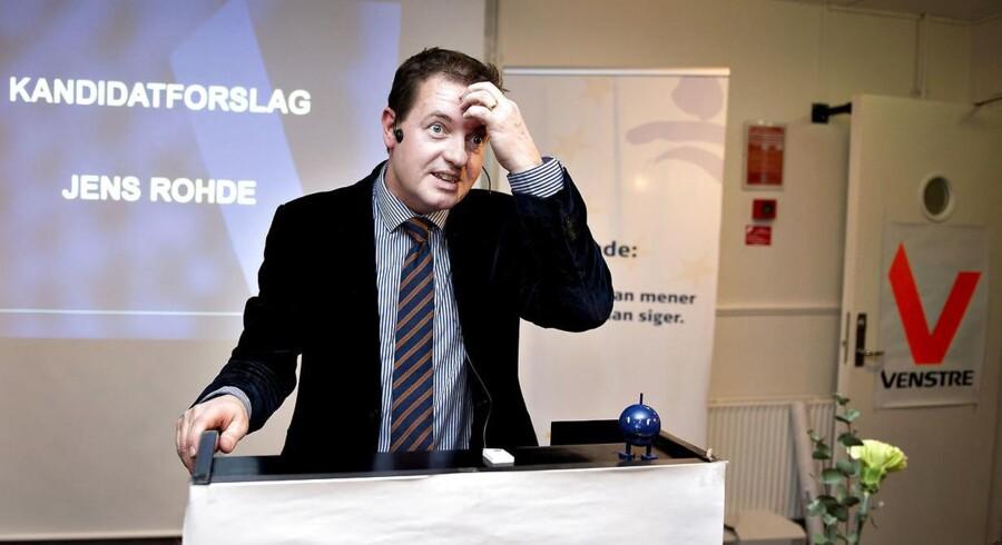 ARKIVFOTO. Venstres udlændingepolitik har fået Jens Rohde til at melde sig ind i De Radikale. Han vil et parti med plads til hans holdninger uden interne kontroverser. (Foto: Henning Bagger/Scanpix 2013)