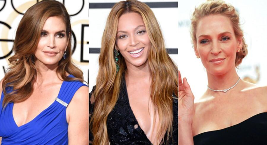 Cindy Crawford, Beyonce Knowles og Uma Thurman er blandt de kendte kvinder, som har været gennem møllen.