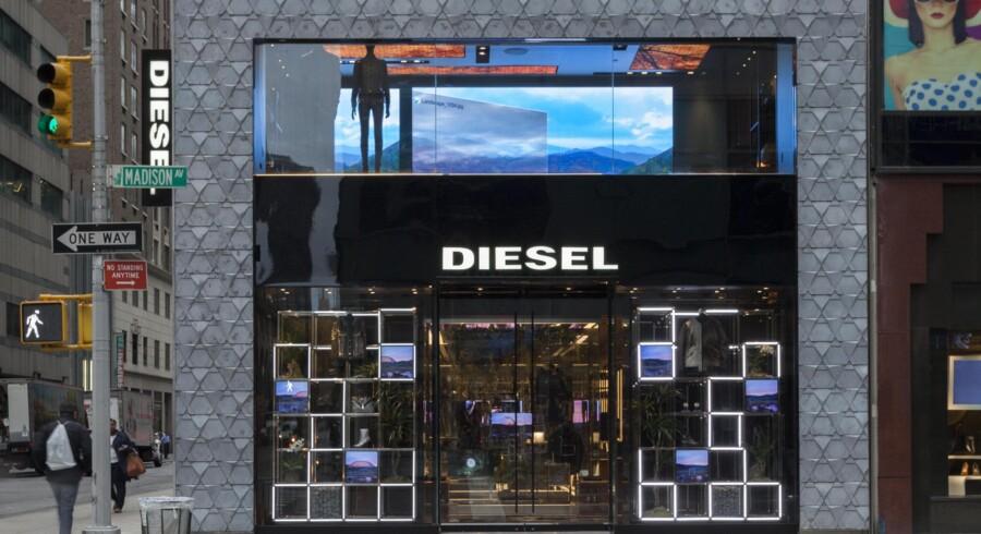 Den første af butikkerne gemmer sig bag metalfacaden her på Madison Avenue på Upper East Side i New York. Foto: PR.