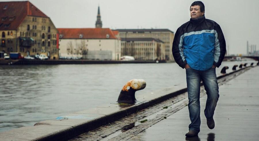 Eddy Lopez fotograferet i Københavns Havn, december 2013.