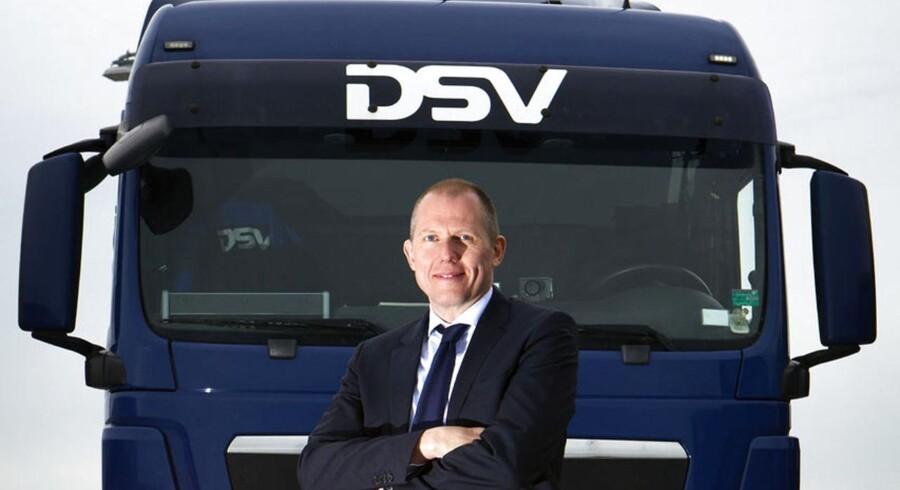 Jens Bjørn Andersen, topchef for transportgiganten DSV.