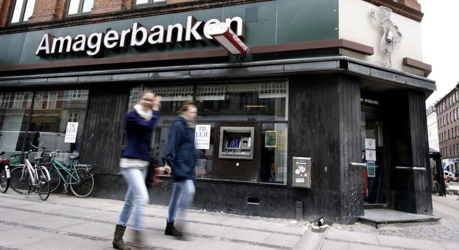 Amagerbanken på Nørrebrogade. ARKIVFOTO.
