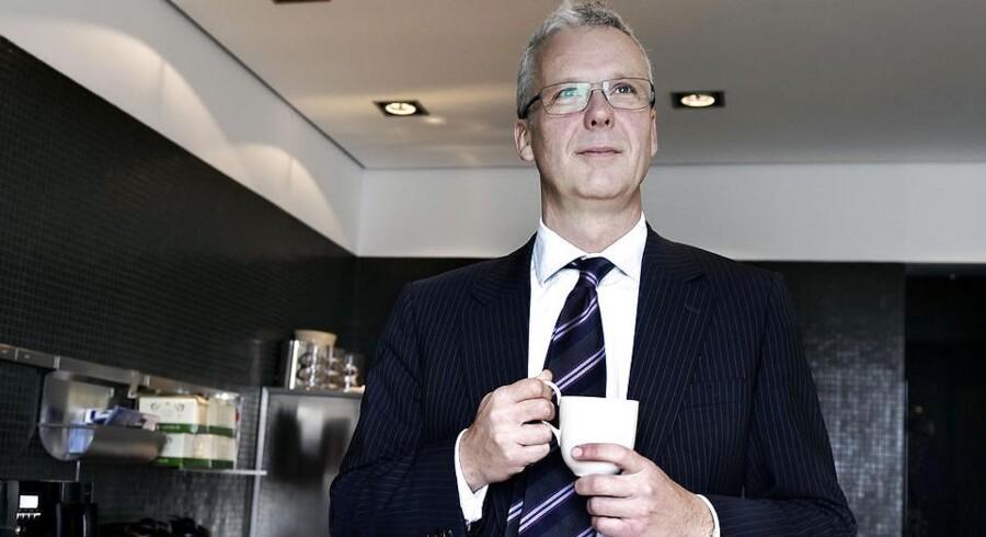 Adm. direktør i Finansiel Stabilitet, Henrik Bjerre-Nielsen, mener ikke, at der er grund til at frygte konkurser som følge af Finansiel Stabilitets salg af gældsposter til den amerikanske kapitalfond Cerberus.