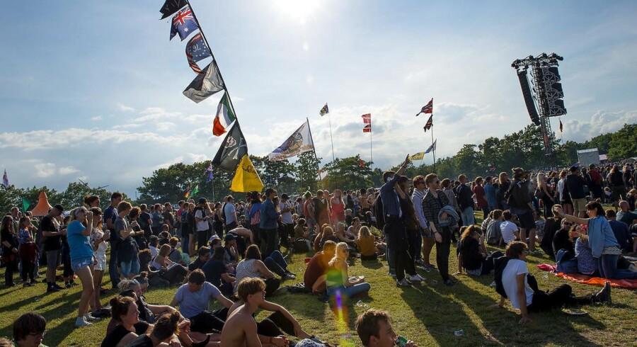 32.000 frivillige arbejder ulønnet på årets Roskilde Festival. Foto: Nils Meilvang