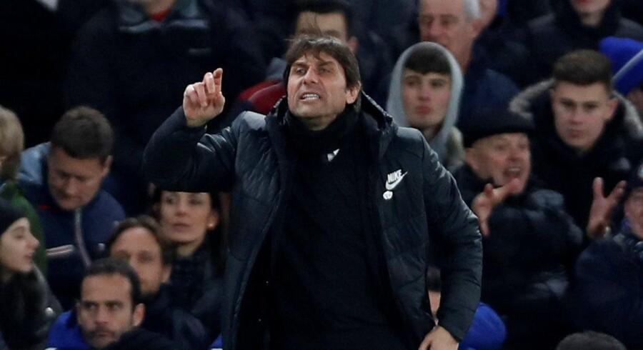 Antonio Conte føler, at han har svært ved at få sine transferønsker opfyldt i Chelsea. Scanpix/Paul Childs/arkiv