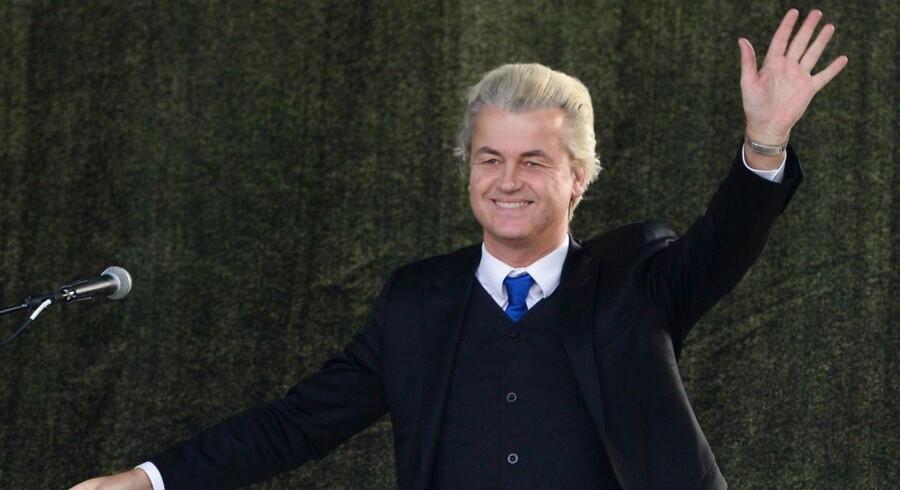 ARKIVFOTO. Den omstridte politiker, Geert Wilders, kommer til Folkemødet på Bornholm.