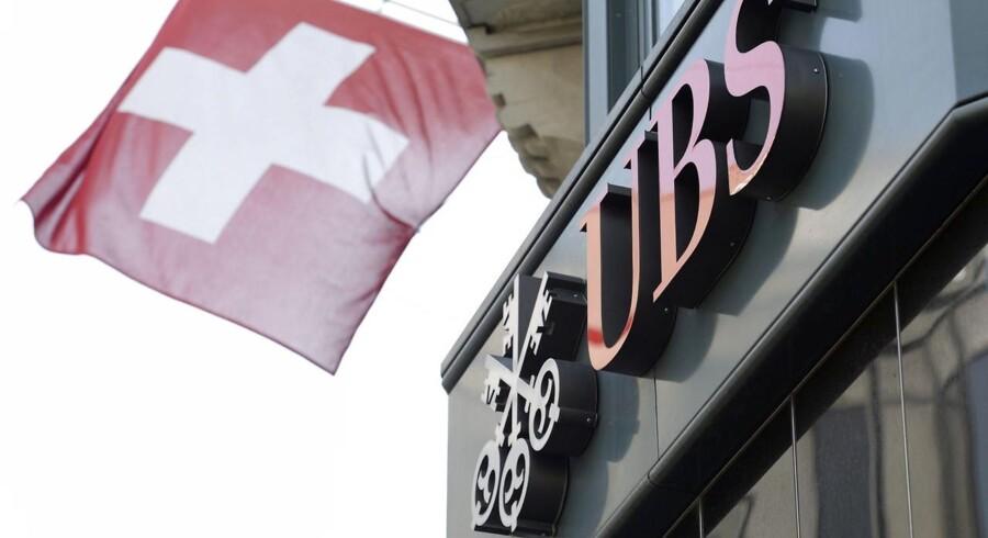 Regnskabet fra UBS blev offentliggjort en dag tidligere end oprindeligt planlagt.