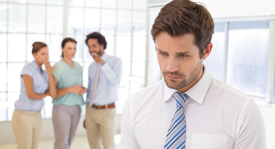 Næsten hver niende dansker føler sig mobbet af deres kolleger på arbejdspladsen. Det viser en analyse fra Arbejderbevægelsens Erhvervsråd, hvori 27.000 danske lønmodtagere er blevet adspurgt om, hvorvidt de oplever mobning på arbejdspladsen.