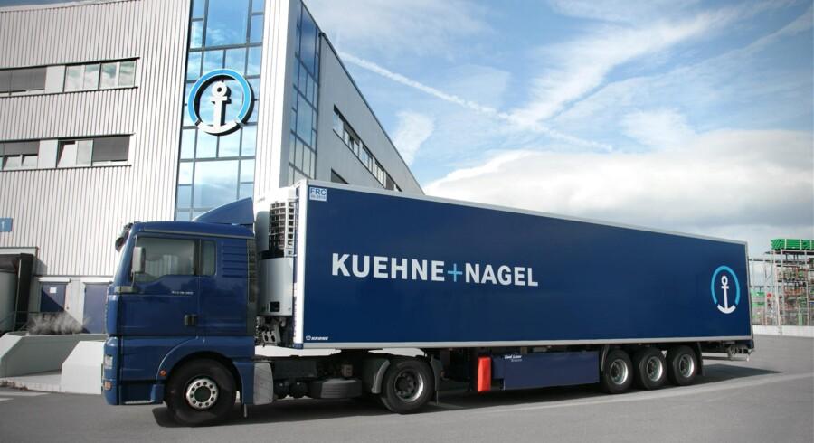 Der var fortsat fremdrift på toplinjen hos Kuehne + Nagel i tredje kvartal, hvor den schweiziske speditør øgede omsætningen 4,2 pct. til 4,5 mia. schweizerfranc, især takket være vækst inden for søfragt. Foto: Kuehne + Nagel