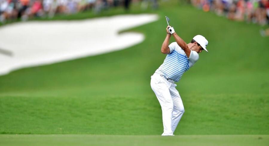 Arkivfoto. Den 27-årige danske golfstjerne har spillet sig op på syvendepladsen i Turkish Airlines Open i Antalya.