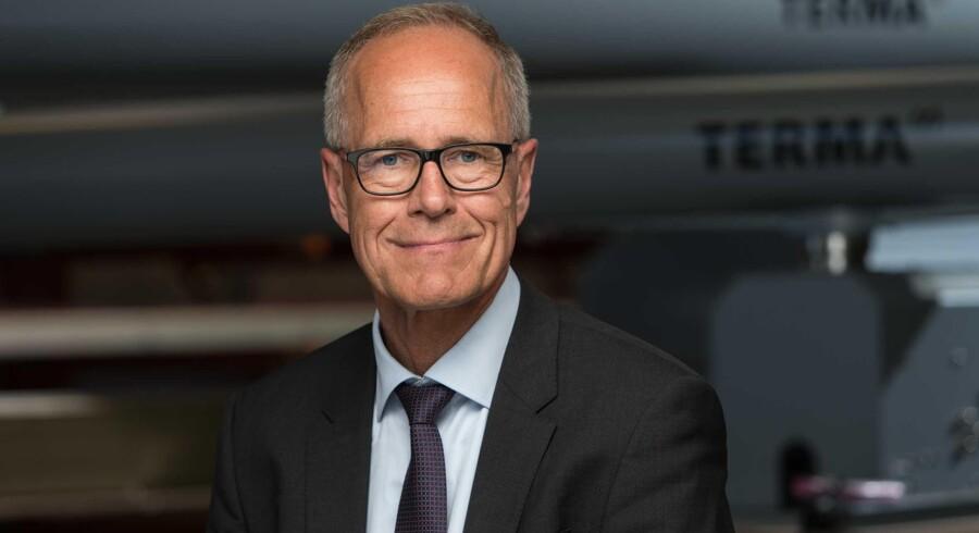 Jens Maaløe, CEO hos den danske virksomhed Terma A/S