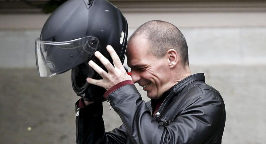 Den tidligere græske finansminster, Yanis Varoufakis