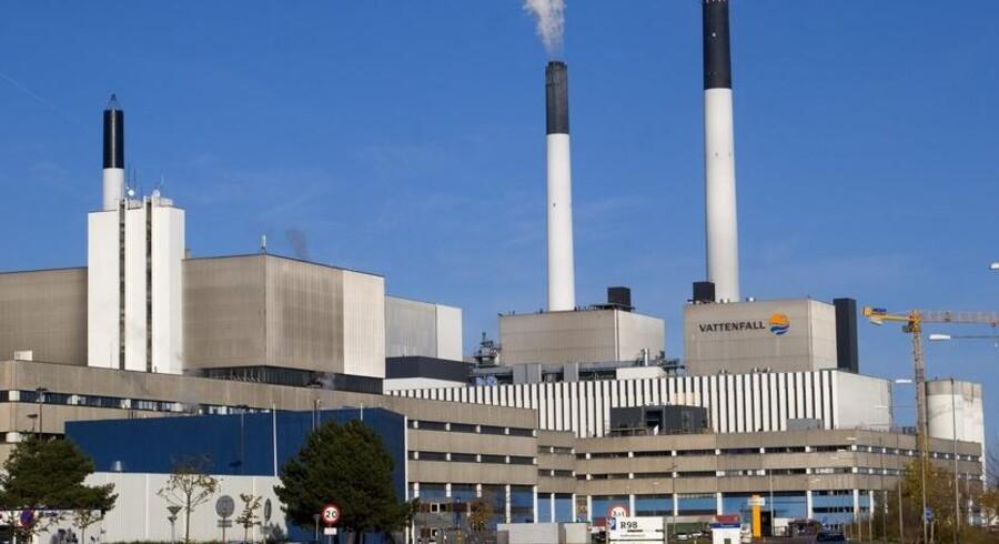 Vattenfall taber stort på kraftværker i Europa på grund ad lavere energipriser. Foto: Torben Christensen