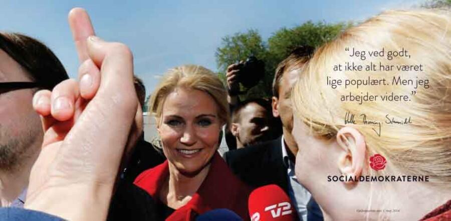Under sloganet »Det Danmark du kender« har Socialdemokraterne netop offentliggjort en ny kampagne. Se den her.