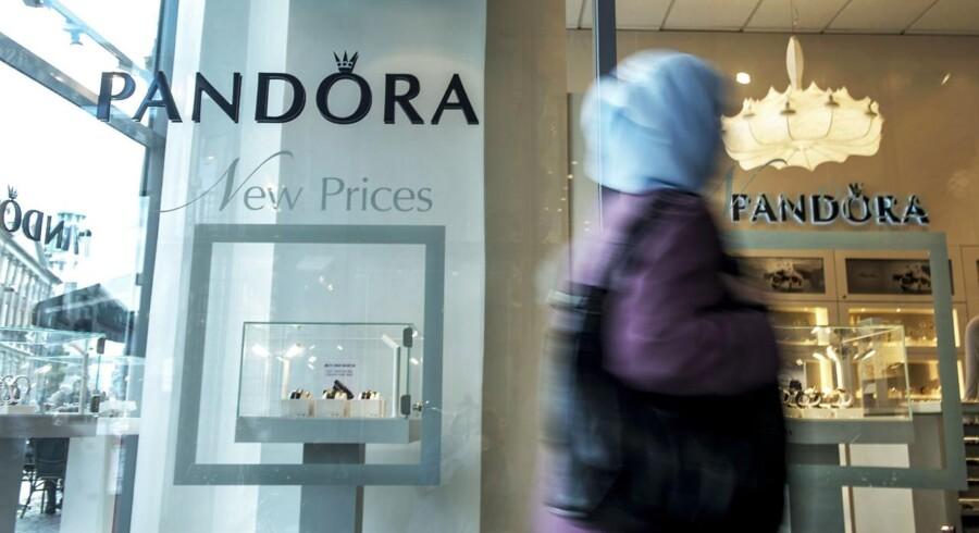 Meldinger om skuffende salgstal i USA får torsdag eftermiddag Pandora-aktien til at falde voldsomt.
